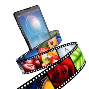 Streaming video with modern mobile phone